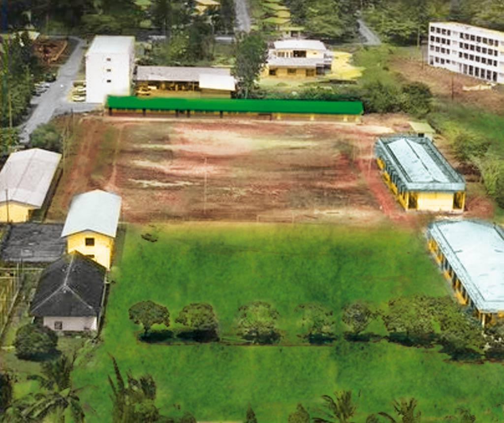 2015 Juin · Lycée Raponda-Walker Au Gabon